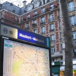 Σταθμός Μετρό Maubert-Mutualite