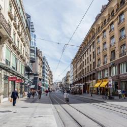 Quartier commerçant de Genève
