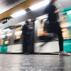 Carrefour Pleyel Metro Station