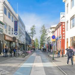 Ulica handlowa Laugavegur, Reykjavík