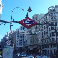 Estación de metro Plaza de España