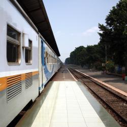 Pasar Turi Train Station Surabaya