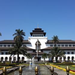 Gedung Sate pastatas, Bandungas
