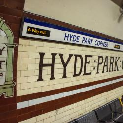 Hyde Park Corner Tube Station