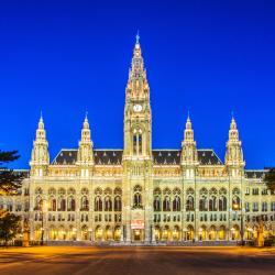 Rathaus - Municipio di Vienna