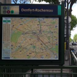 Denfert-Rochereau Metro Station