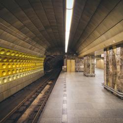 Můstek stanice metra