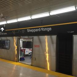 Sheppard-Yonge Metro Station
