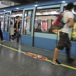 Universidad de Chile Metro Station