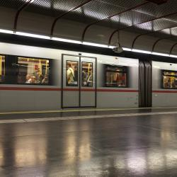 Nestroyplatz Metro Stop