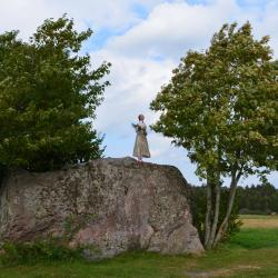 The Tilgaļi Giant Boulder, Dārte