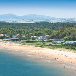 Solanas beach area