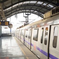 Sikanderpur Metro Station