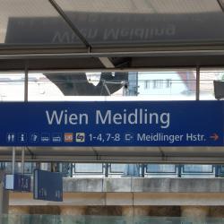 Wien Meidling - Train Station