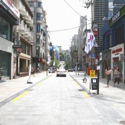 Calle Apgujeong Rodeo, Seúl