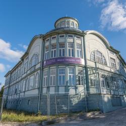 Former E. Rācene's Swimming Centre, Jurmała
