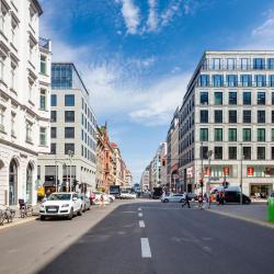 Rua Friedrichstraße, Berlim