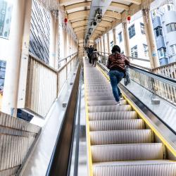 Mid-Levels Escallato, Hong Kong