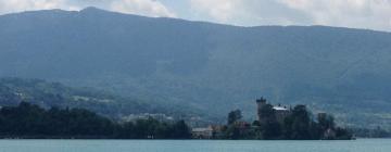 アヌシー湖のホテル