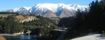 Hotels in Mt Hutt Ski Area