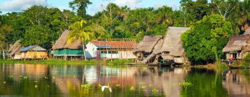 Lodges in Iquitos Jungle