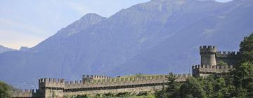 Отели в регионе Bellinzona and upper Ticino