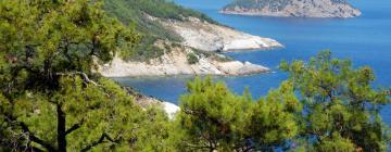 Villas on Thasos