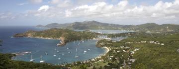 Hotéis em: Ilha de Antígua