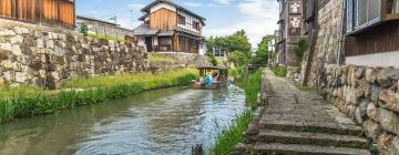 Hotels with Parking in Shiga