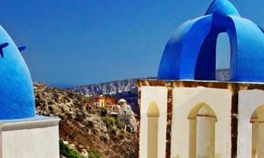Vily v destinaci Santorini