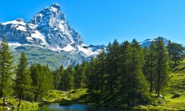Monte Cervino Ski Area: hotel
