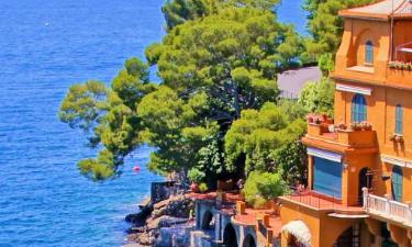 Strandhotell i Italienska rivieran