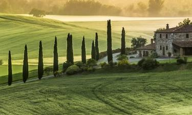 Hotell i Val d'Orcia