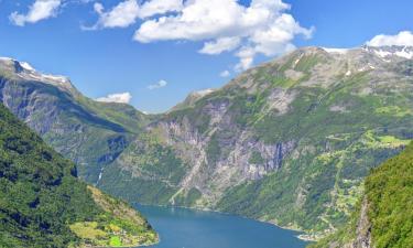 Hoteller i Geirangerfjorden