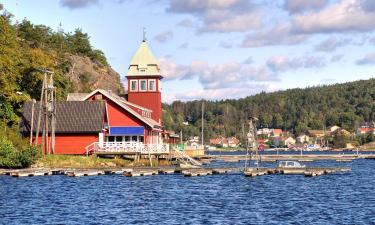 Romantiske hoteller i Østfold