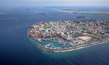 فنادق في الجزيرة المرجانية الشمالية مالي أتول