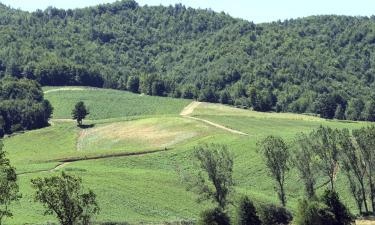 Lantgårdar i Sila nationalpark