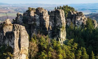 Pensjonaty w regionie Czeski Raj
