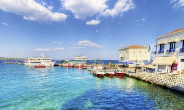 Виллы на острове Спеце