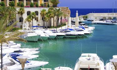 Hôtels près de la Plage sur cette île: Île de Malte