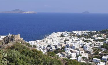 Παραθεριστικές κατοικίες σε Νίσυρος