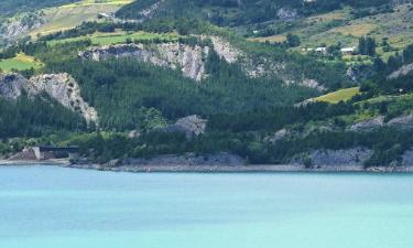 Campings dans cette région: Lac de Serre-Ponçon