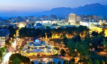 Hotels in Tirana County