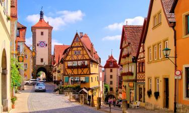 Hotels in der Region Burgenstraße