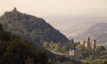Hotels in der Region Siebengebirge