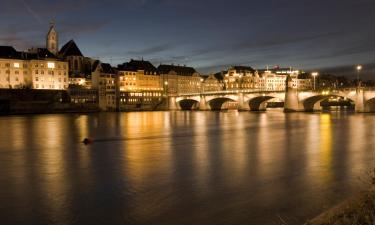 Hotels in der Region Basel-Stadt