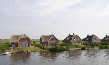 Hotels in Frisian lakes
