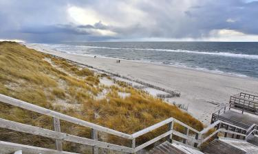 Hotels am Strand in der Region Nordfriesische Inseln