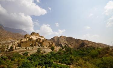 Chalés alpinos em: Asir Province