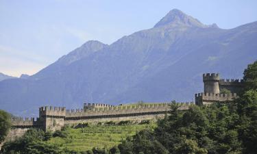 Bellinzona e Alto Ticino: hotel